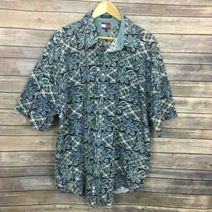 Tommy Hilfiger Printed Down Shirt